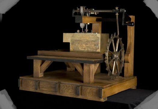 máquina de coser thomas saint