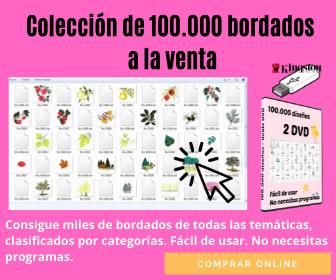 Comprar Colección de diseños bordados