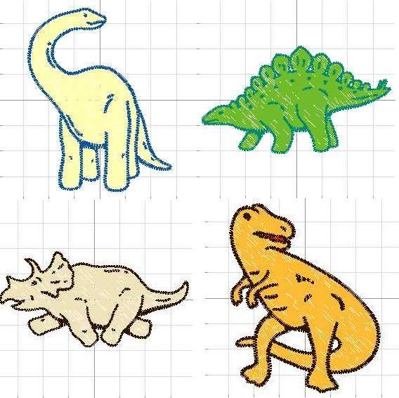 dibujos de dinosaurios